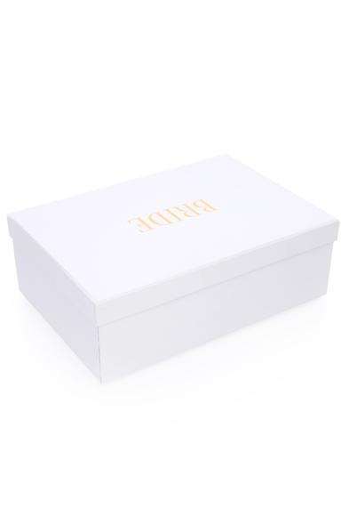 SK Organizasyon & Tasarım - Beyaz Bride Yazılı Kutu (1)