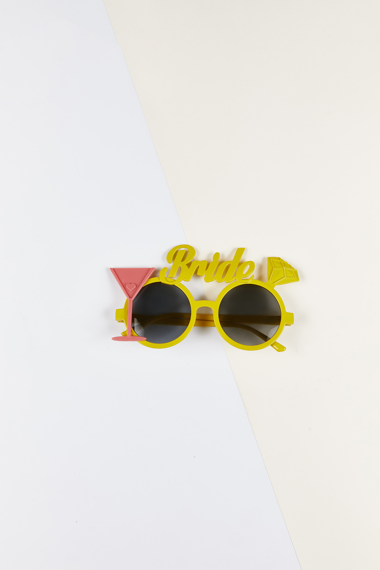 Bride Gözlüğü Sarı Çerçeveli - Thumbnail