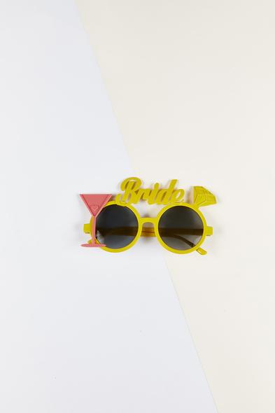OLEG CASSINI TR - Bride Gözlüğü Sarı Çerçeveli
