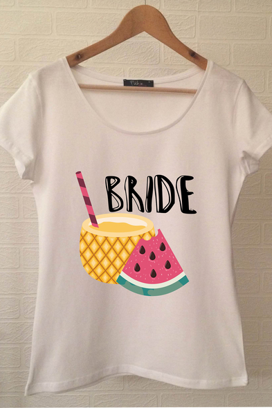 Bride T-shirt ukde101 - Oleg Cassini