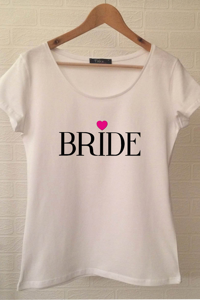 Ukdedesign - Bride T-shirt ukde103