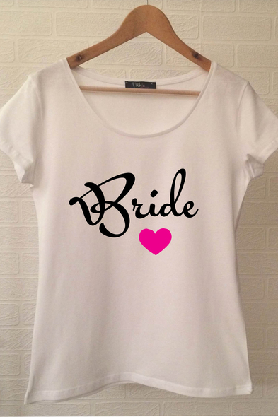 Ukdedesign - Bride T-shirt ukde106