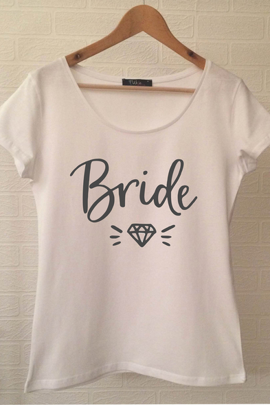 Ukdedesign - Bride T-shirt ukde110