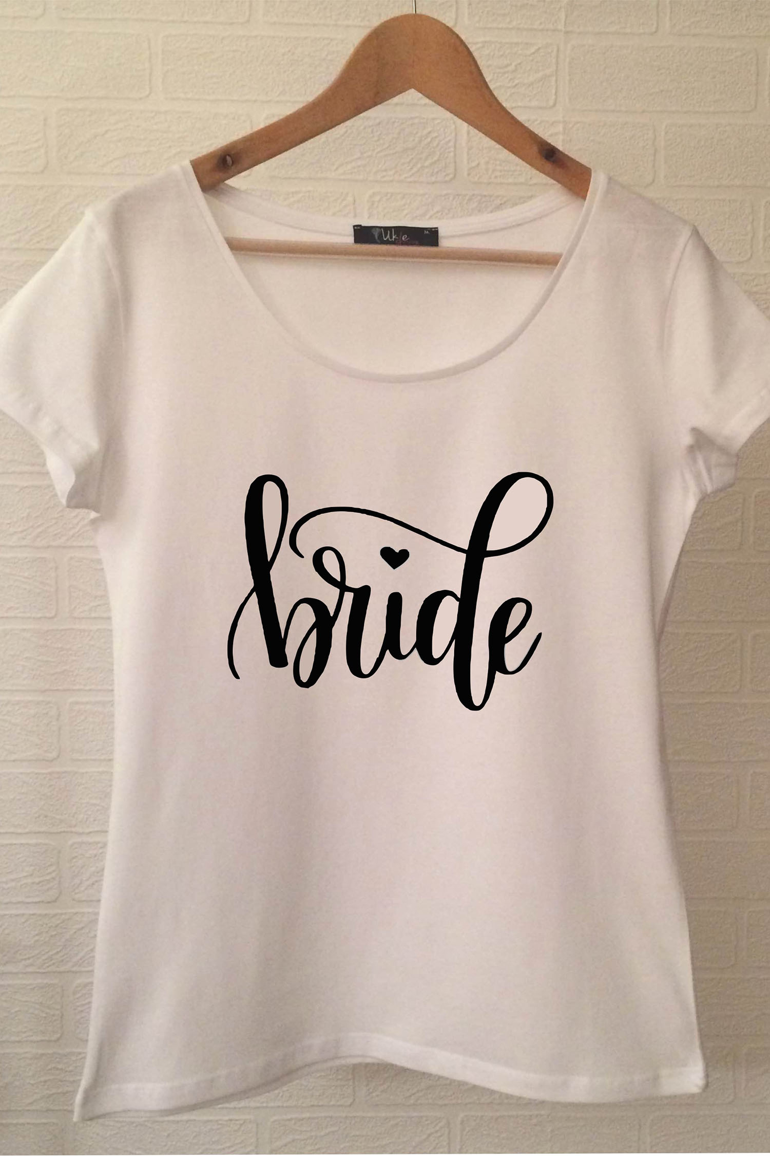 Bride T-shirt ukde112