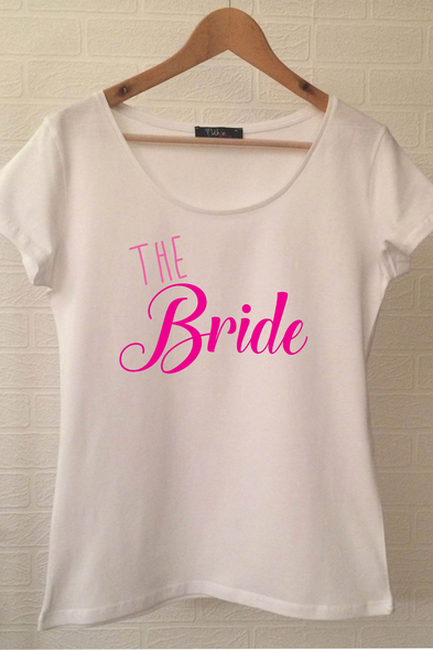 Ukdedesign - Bride T-shirt ukde113
