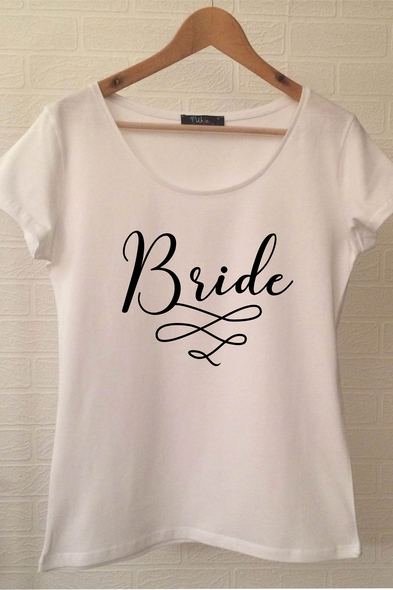 Ukdedesign - Bride T-shirt ukde116