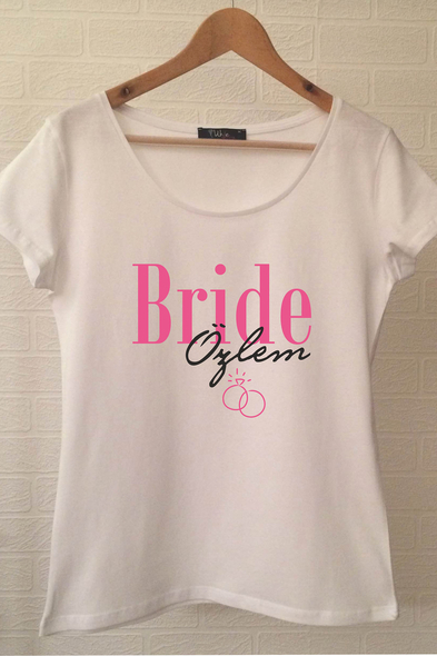 Ukdedesign - Bride T-shirt ukde117
