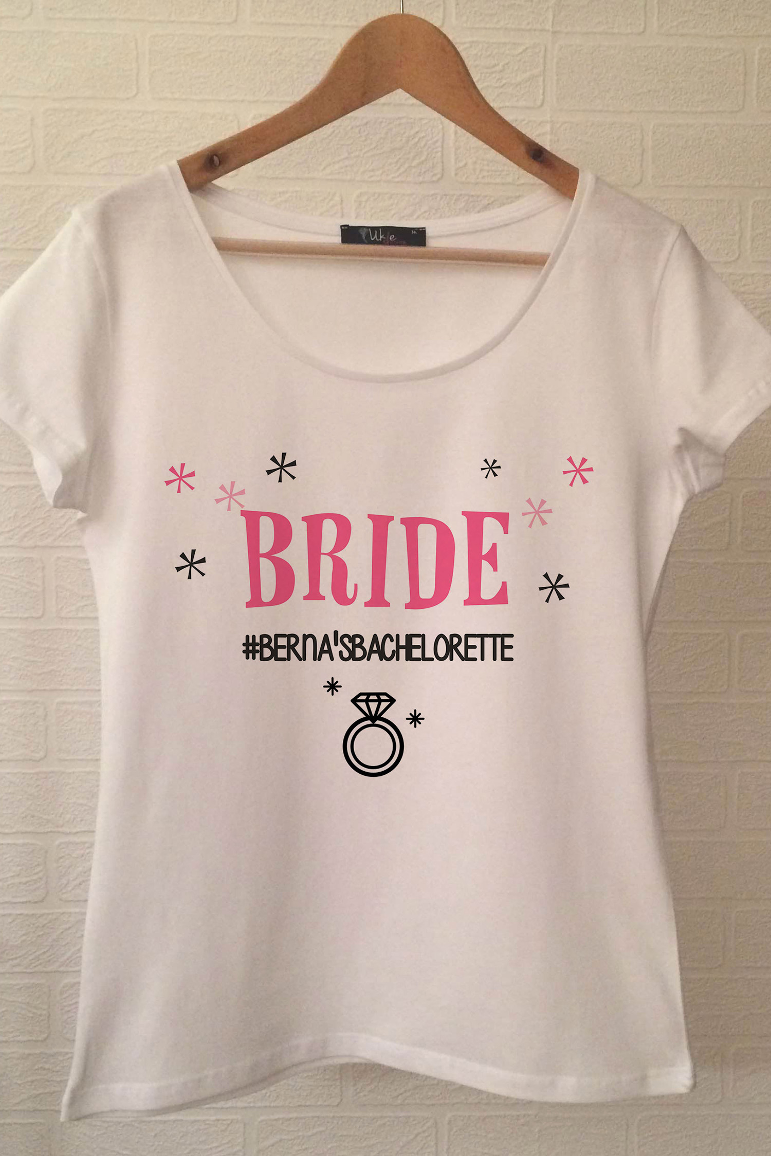 Bride T-shirt ukde71