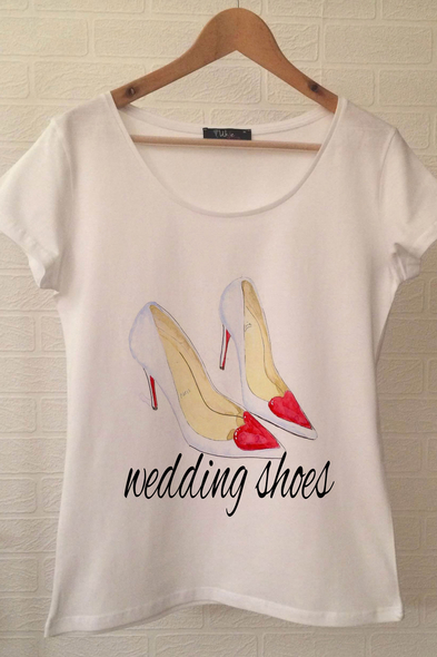 Ukdedesign - Bride T-shirt ukde91