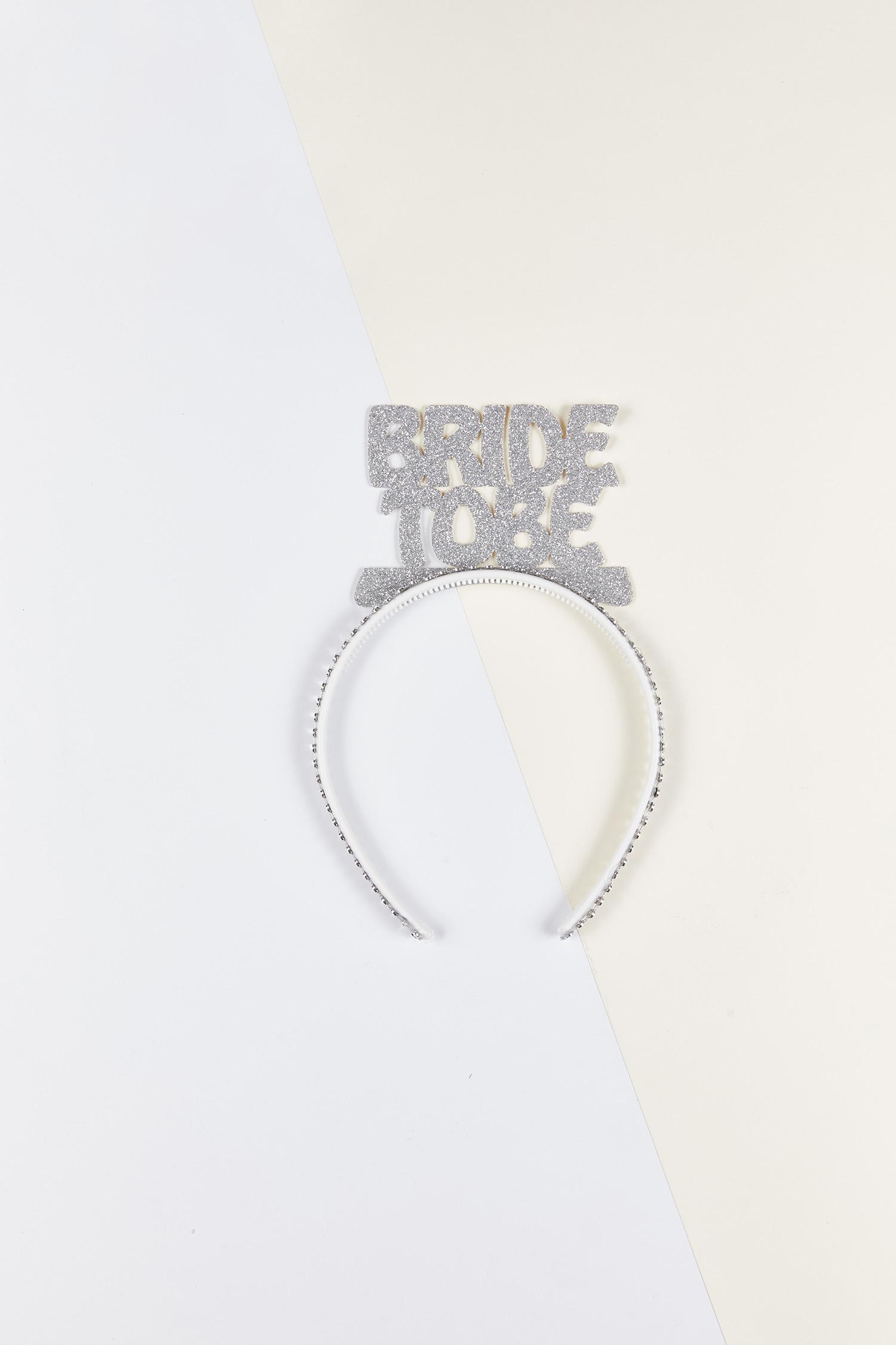 Bride to Be Taç Gümüş Rengi