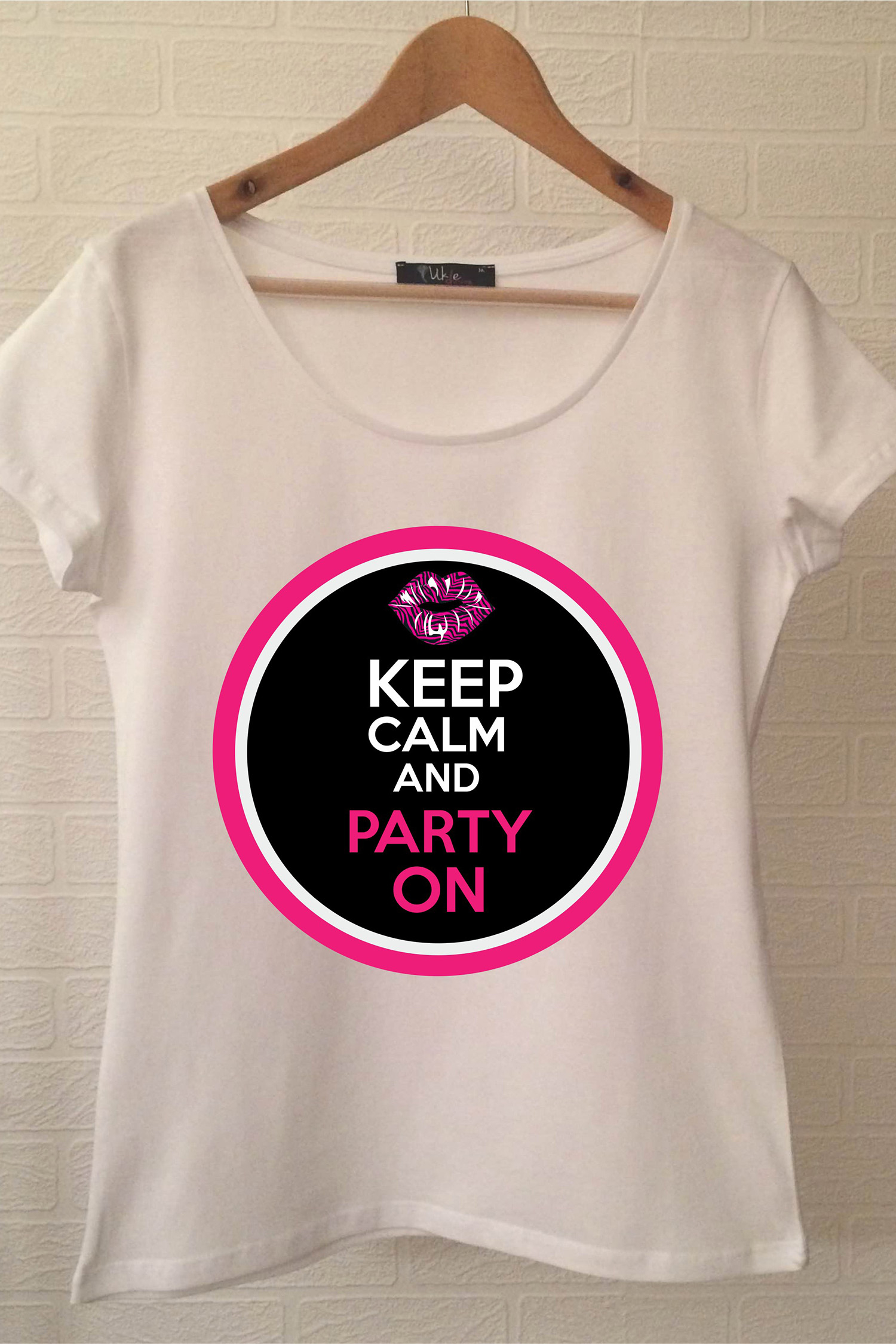 Brides Party T-shirt ukde80