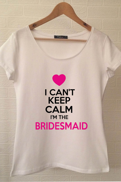 Ukdedesign - Bridesmaid T-shirt ukde107