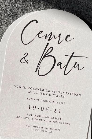 Paprika Design - Cemre Davetiye