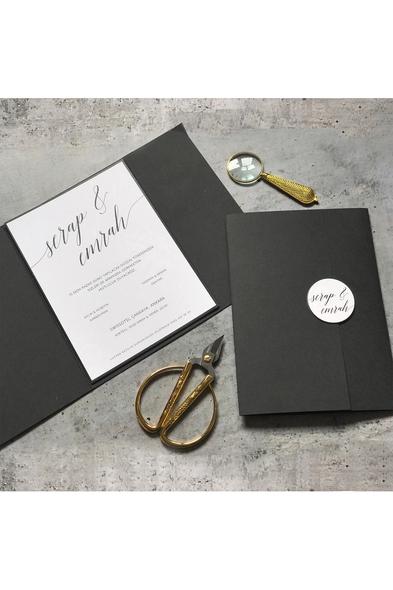Paprika Design - Chanel Black Davetiye