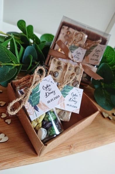 Bridalook - Çikolata ve Kahve Sabun Set