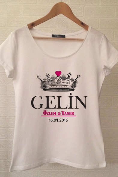 Ukdedesign - Gelin T-shirt