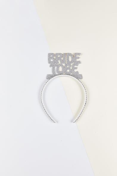 OLEG CASSINI TR - Gümüş Rengi Bride to Be Taç