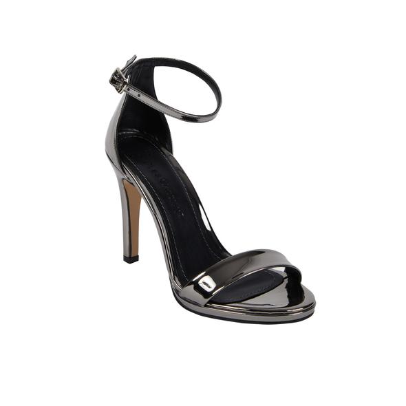 OLEG CASSINI TR - Gümüş Rengi Yüksek Topuklu Abiye Ayakkabı