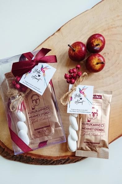 Bridalook - Kahve & Badem Şekeri Set