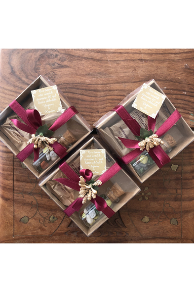 SK Organizasyon & Tasarım - Kahve ve Çakıl Çikolata Nikah Şekeri