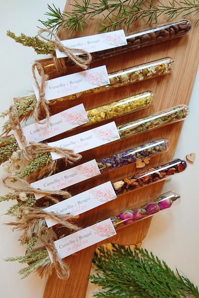 Bridalook - Karışık Bitki Çaylı & Kuru Çiçekli Tüpler