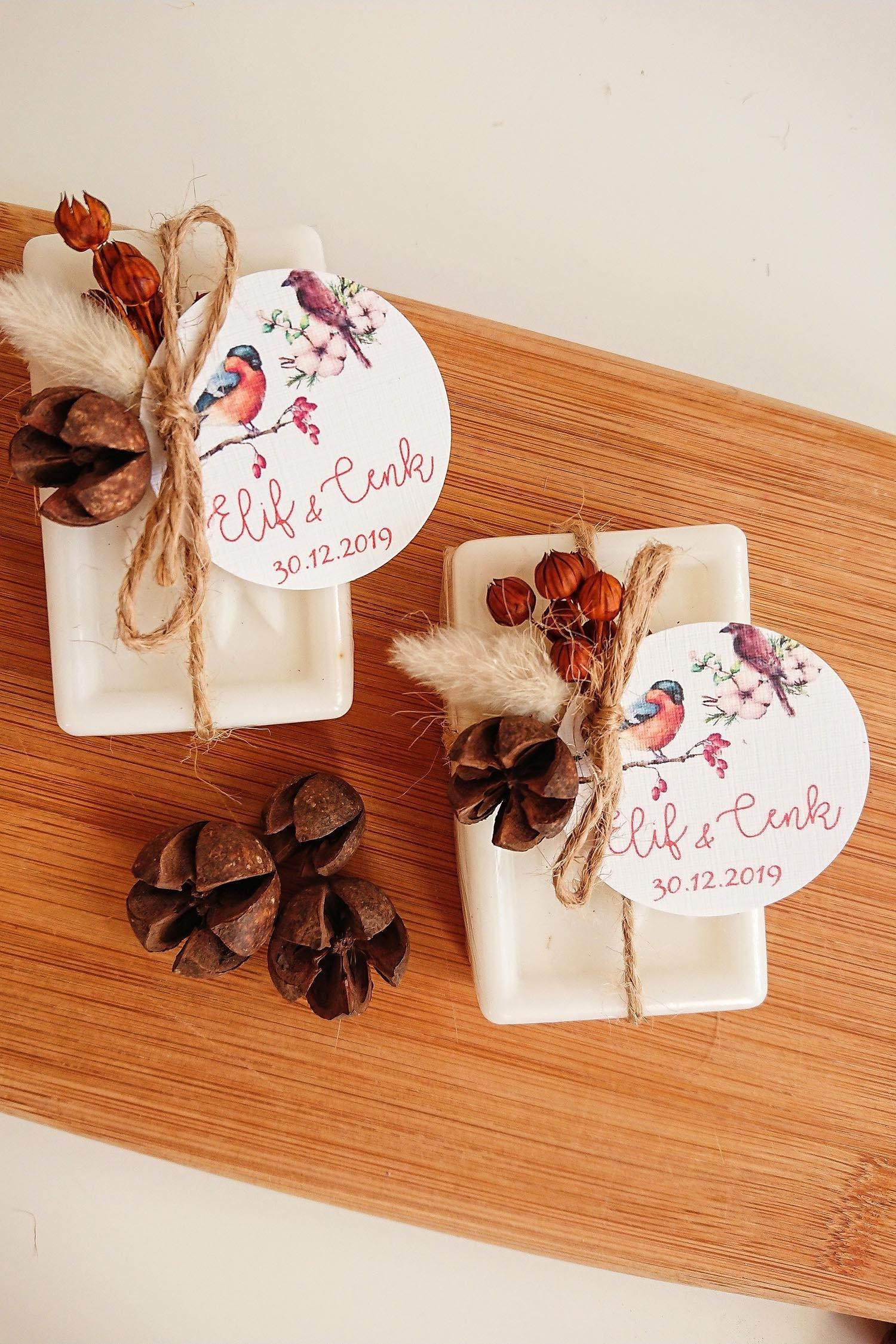 Kozalak ve Kuru Çiçekli Sabunlar
