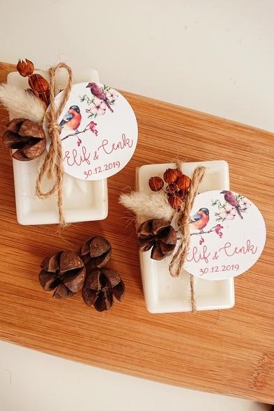 Bridalook - Kozalak ve Kuru Çiçekli Sabunlar