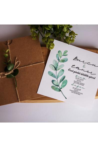 Bridalook - Okaliptus Davetiye