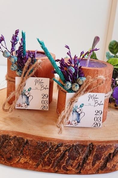 Bridalook - Okaliptus & Pamuk Kütük Mumluk
