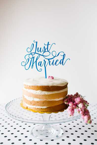 Le Petit Mariage - Pasta Süsü - Just Married