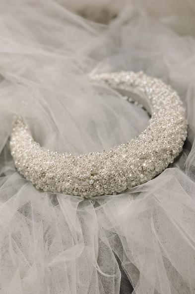 Miracle Aksesuar - Pearl Petals Taç