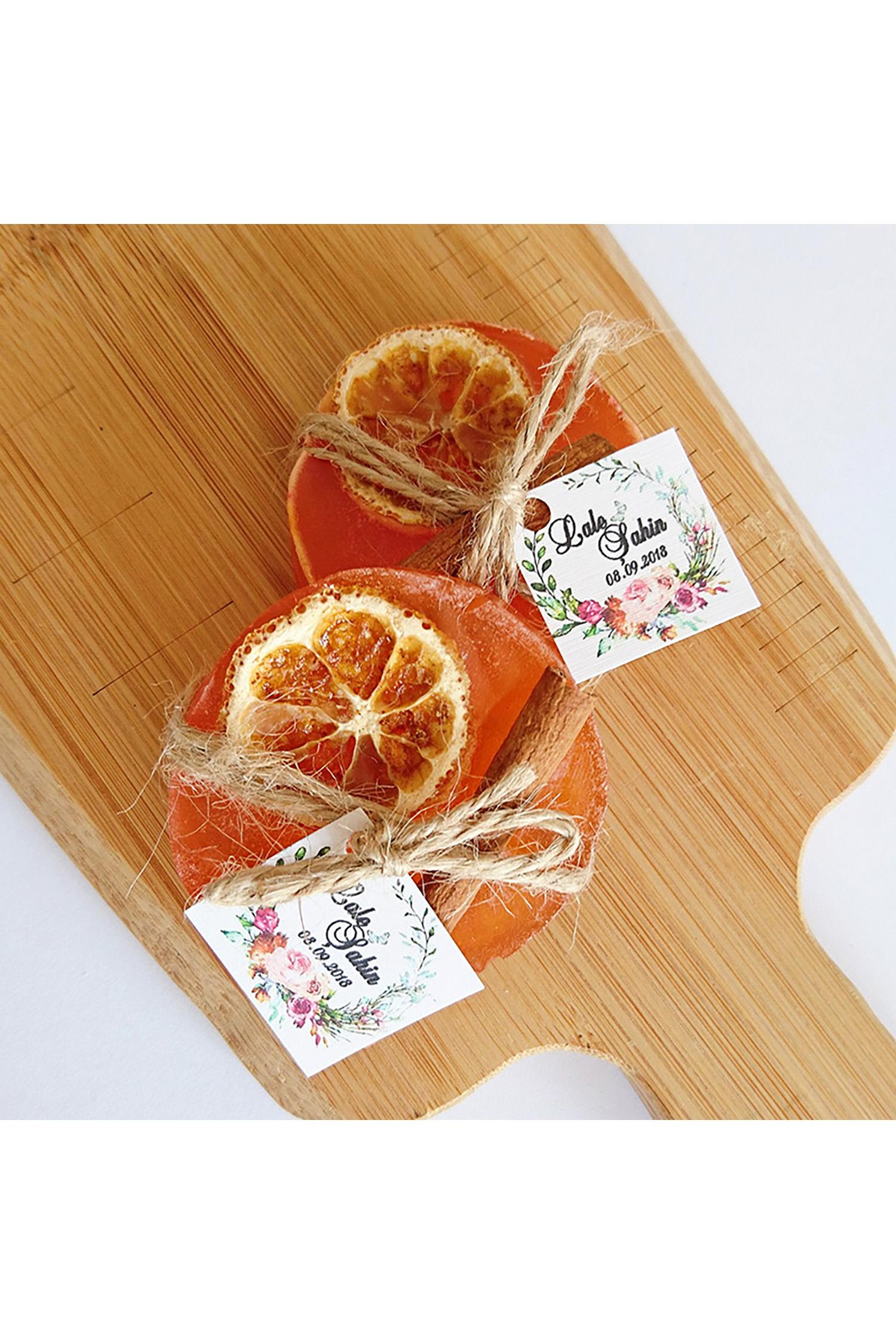 Portakallı Yuvarlak Sabun