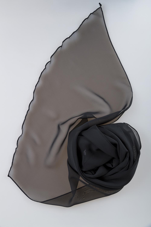 Siyah Abiye Şal - Thumbnail