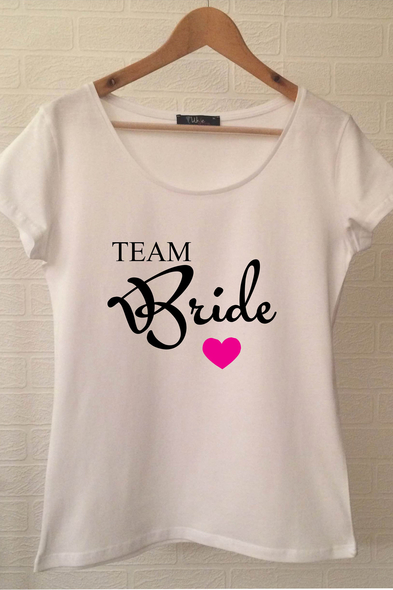 Ukdedesign - Team Bride T-shirt ukde105