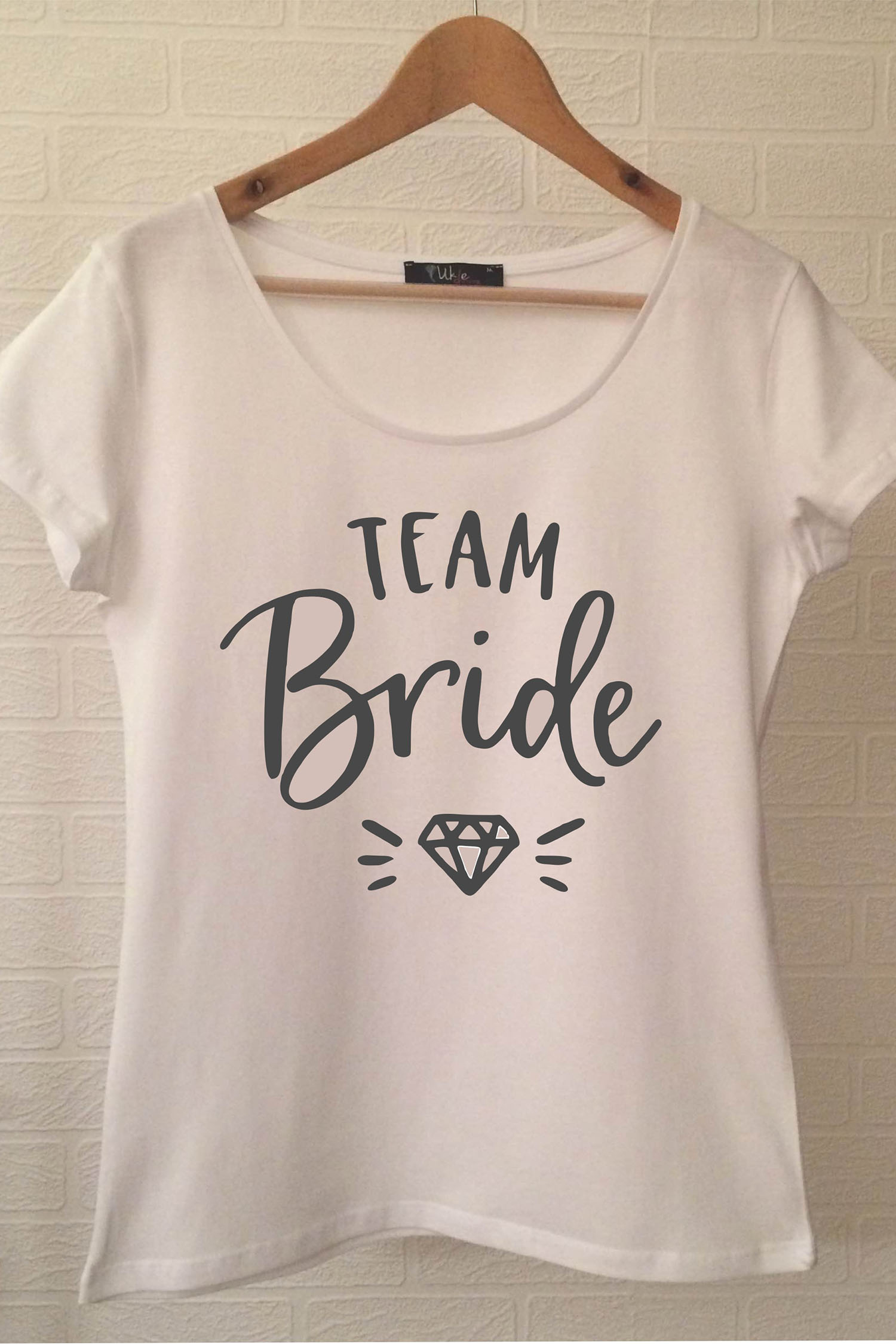 Team Bride T-shirt ukde109