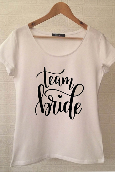 Ukdedesign - Team Bride T-shirt ukde111