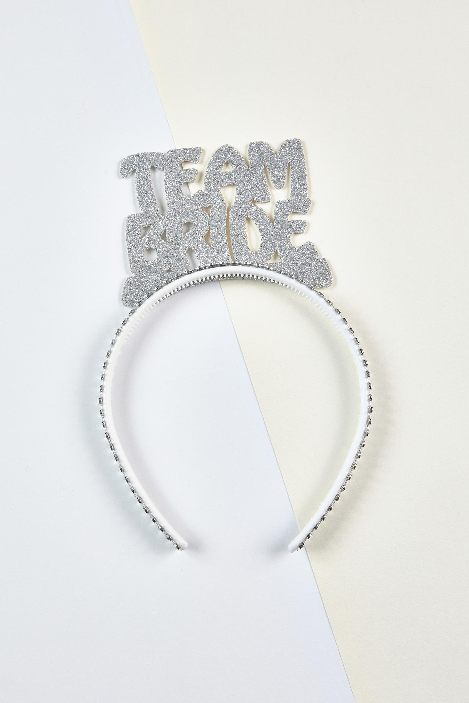Team Bride Taç Gümüş Rengi