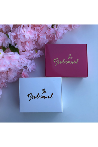 SK Organizasyon & Tasarım - The Bridesmaid Yazılı Kutu