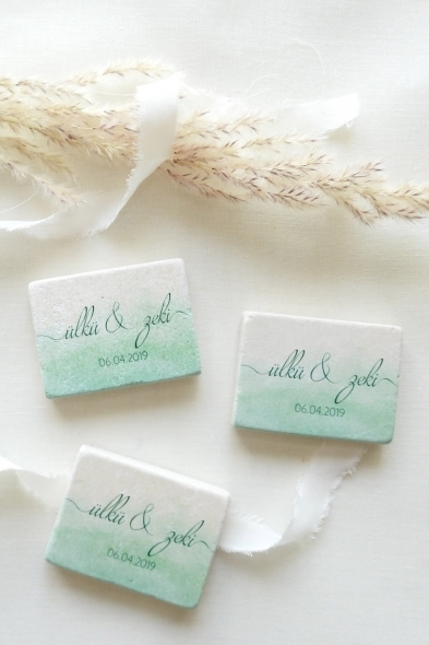 Save the Date - Timeless Magnets / Greenery