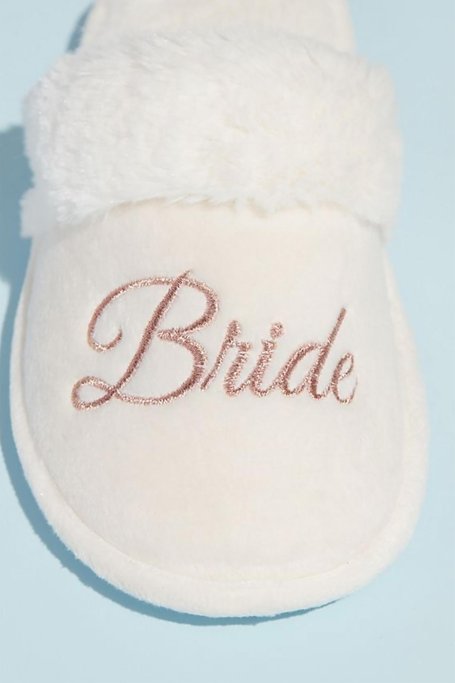 Tüylü Bride Terlik - Thumbnail