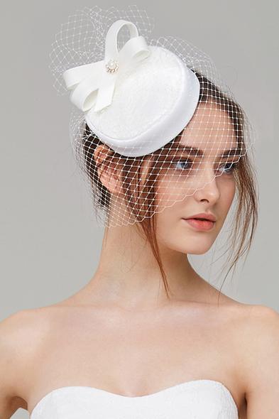 - Vintage Gelin Şapkası - Oleg Cassini