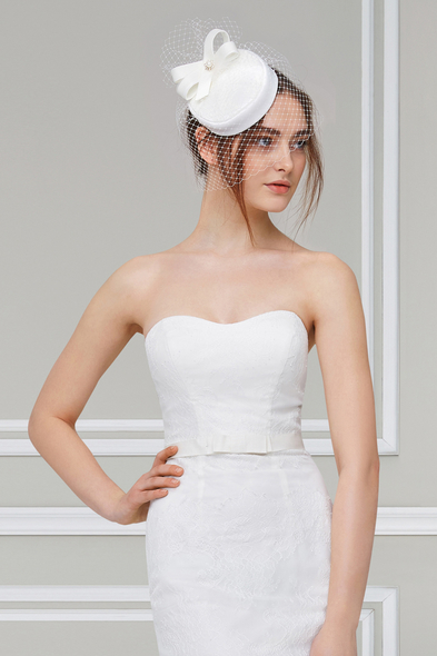 Turkuaz Aksesuar - Vintage Nikah Şapkası