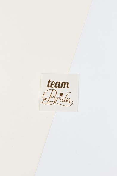 OLEG CASSINI TR - Yapıştırmalı Dövme Team Bride Yazılı Kalpli